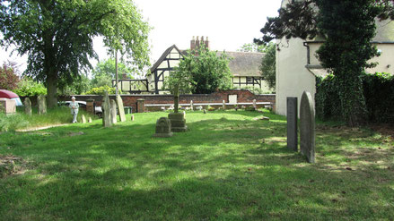 The site of Water Orton Chapel in Old Church Road