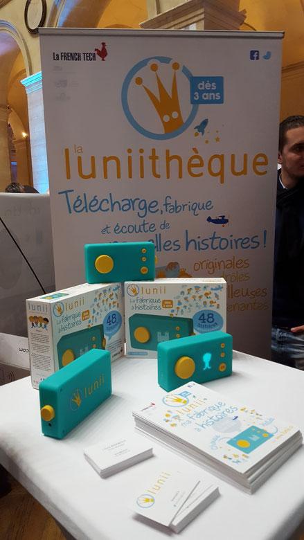 CES Unveiled Paris -  Lunii boîte à histoire pour enfants
