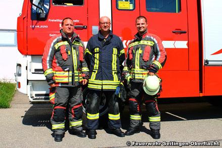 v.l.n.r. Kai Penkwitz, Markus Grimm und Sebastian Bertelmann
