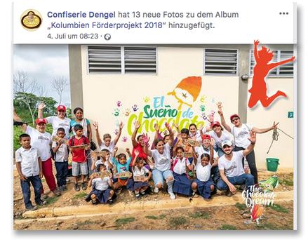 Das Esel-Schulprojekt der Confiserie Dengel ist unser Freudensprung der Woche