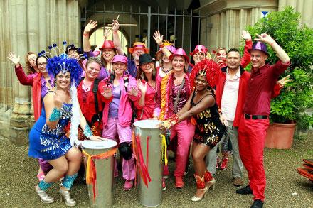 Samba-O beim Festival in Coburg 2014