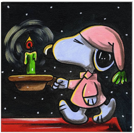 Good night, Snoopy!