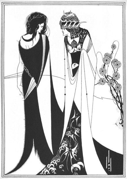 オーブリー・ビアズリー「サロメ」(1893年)