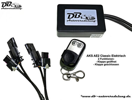 Auspuff Klappensteuerung AVE2 CLASSIC Elektrisch für Audi VW Skoda