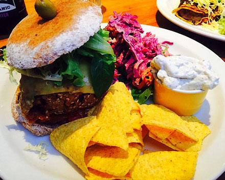 vegan cheeseburger henderson's edinburgh scotland