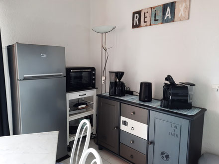 Appartement à Gruissan Les Ayguades - coin cuisine