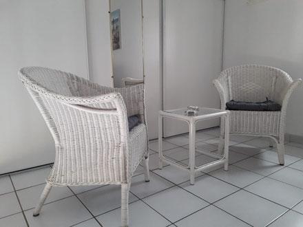 Ferienwohnung in Gruissan Les Ayguades - offene Schlafempore