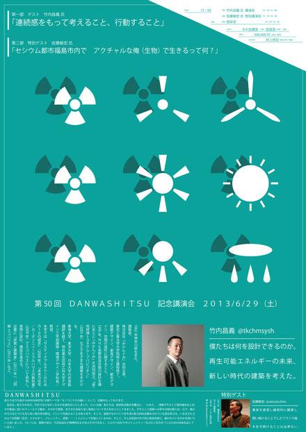50th 記念講演会ポスター