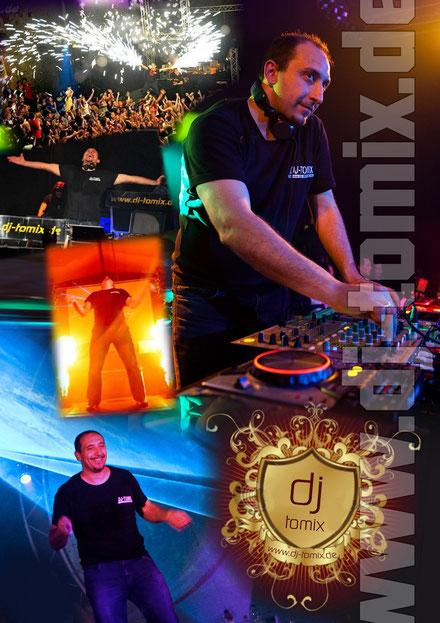 DJ Tomix Autogrammkarte