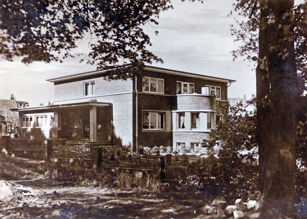 Luftbild von Burgdamm (1928)