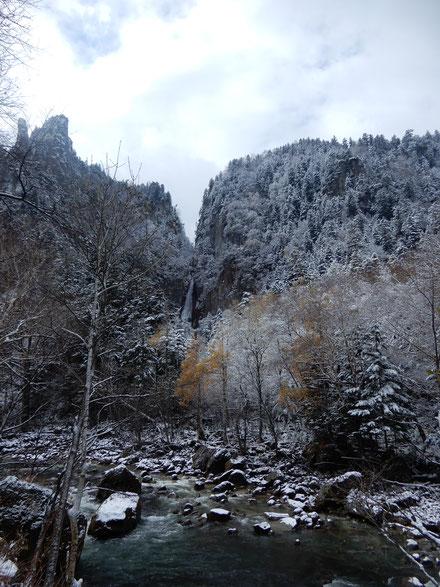 層雲峡の滝