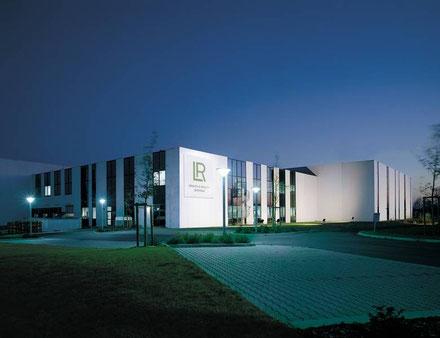 Das Produktionsgebäude