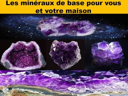 Les minéraux de base pour vous et votre maison - Lithothérapie - Casa bien-être