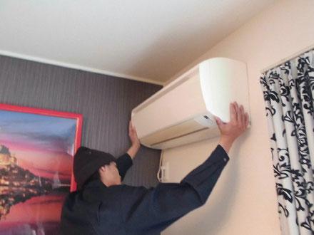 家庭用・業務用エアコンの取付
