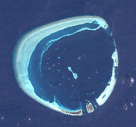 Atol de Rasdhoo, illes Kuramathi i Veligandu, Illes Maldives.