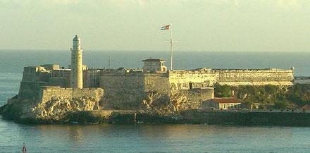 Far del Castell del Morro, La Habana, Cuba.