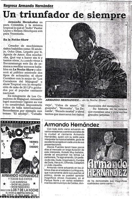 Armando Hernández Un trinfadror de siempre