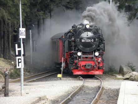 99-7234 im Bahnhof Schierke (2012)