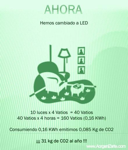 después con bombillas LED - www.AorganiZarte.com