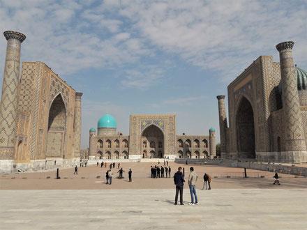 Voyage en Asie centrale : Samarcande