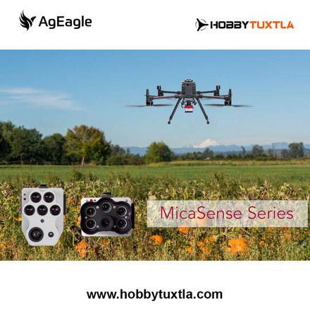Drones y sensores multiespectrales Micasense generan resultados confiables, precisos y repetibles, conoce nuestras soluciones en agricultura