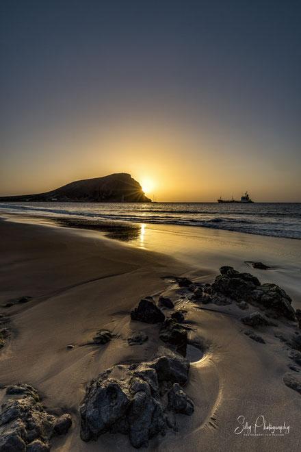 Teneriffa / Playa de la Tejita, Spanien, Sonnenaufgang, 2016, © Silly Photography
