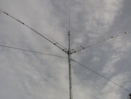 IU8HNE - ANTENNE: CREATE 730 V1a + DIAMOND X300