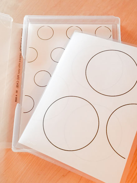 Templates for Baking + How to Neatly Store Baking Templates, Fleur*Fleur*