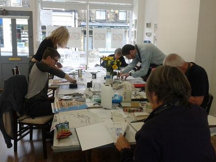 printmaking workshop learn to print