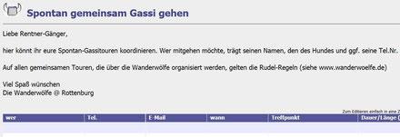 """zur """"Rentnergassi""""-Liste"""