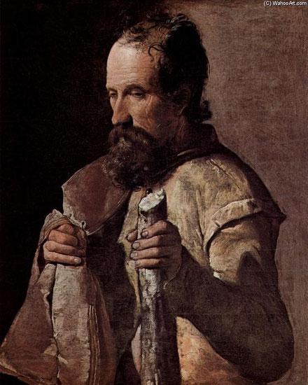 Santiago el Menor.Óleo sobre lienzo65x54cm.Musée Tolouse Lautrec. Pertenecientes al cabildo diocesano de Albi,según el canónigo de la catedral de Nouart.