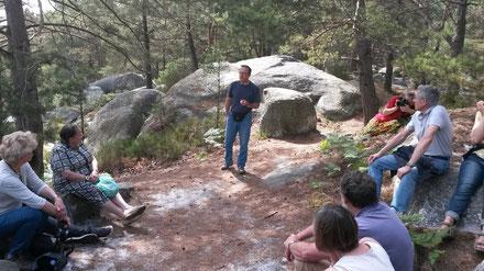 Marc et l'histoire de l'indien dans la forêt