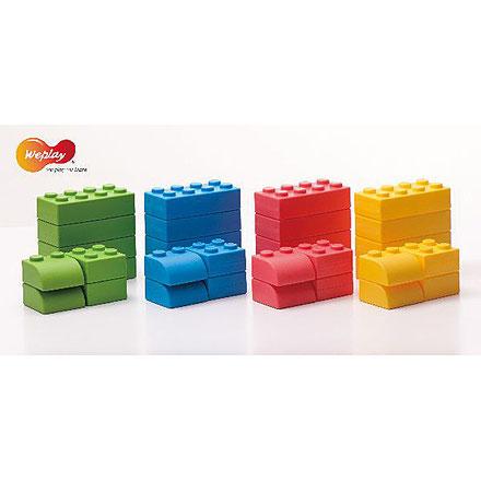Blocs géants 2 pièces, jeux d'assemblage et de construction