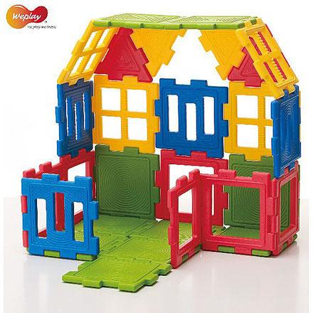 Mini-blocs 56 pièces, jeux d'assemblage et de construction