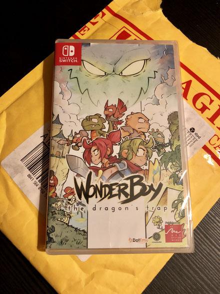 Wonder Boy The Dragon's Trap, Nintendo Switch, Physische Version, Männerquatsch Podcast #19 (Super Retro Boy, Ultra GB und Nintendos Markengeschütze, Sega und die Arcade)