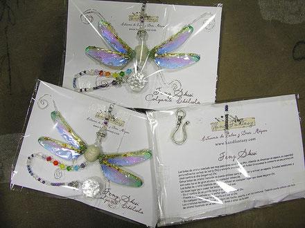 móviles para colgar feng shui, móviles feng shui, cristal facetado feng shui, cristal afacetado feng shui, libélula feng shui, libélula significado espiritual, mariposas y libélulas feng shui