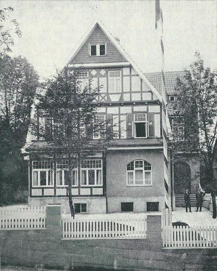 Unser zweites Corpshaus am Zellbach 5 von 1913 bis 1937
