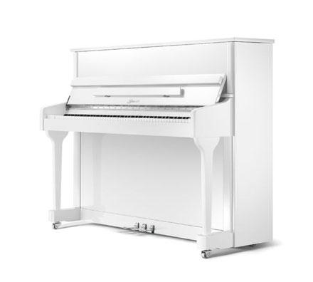 Ritmüller Klavier 118 CLASSIC weiß poliert
