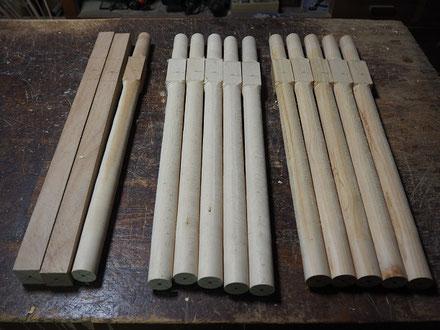 インディアンフルート(木製管)NEWタイプ製作中