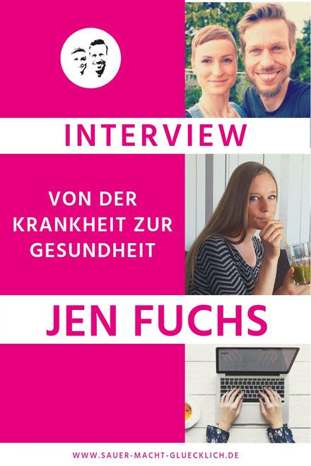 Von der unheilbar Kranken zum ganzheitlichen Gesundheitscoach - Jen Fuchs