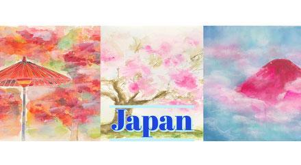 株式会社メアリー・カドガキ 原画レンタルアート「日本 アート」