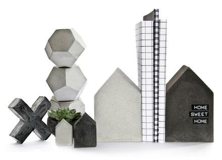 PASiNGA modern sculptural versatile concrete designs