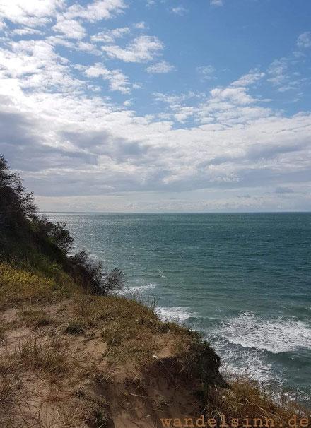 Blick vom Höhenweg auf Hiddensee