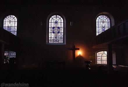Ostermorgen, Heilig-Geist-Kirche Geldern
