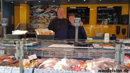 Fischstand Thomas Schmutz, Wochenmarkt Geldern