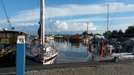 Hafen Kloster auf Hiddensee