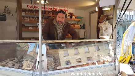 Kriemhildsmühle Xanten auf dem Gelderner Markt