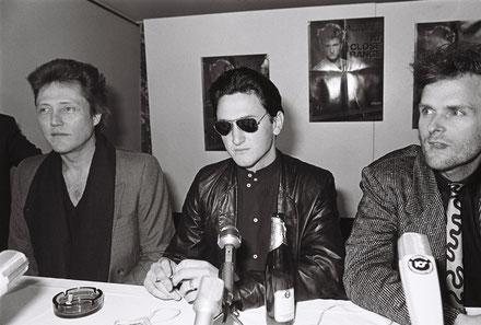 C. Walken, S. Penn, J. Foley, 1986; Foto: Mario Mach, © Deutsche Kinemathek