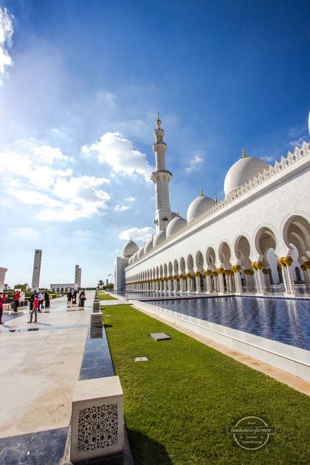 Sheikh Zayed Moschee Abu Dhabi