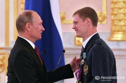 В.В. Путин и Евгений Щвецов